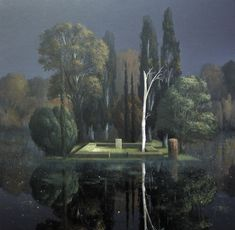 Tombstone by  Arnold Böcklin