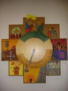 Unsere Kirchenjahresuhr                                                                                                                                                                                 Mehr