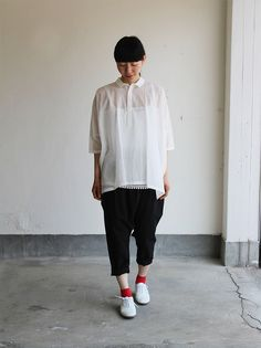 Pull over big shirt / Draw string sarrouel pants 4