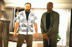 James Gandolfini Dies: James Gandolfini with Delroy Lindo in Get Shorty from 1995 #EasyNip
