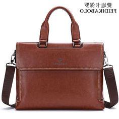 31.50$  Buy here - https://alitems.com/g/1e8d114494b01f4c715516525dc3e8/?i=5&ulp=https%3A%2F%2Fwww.aliexpress.com%2Fitem%2F2015-Popular-Italy-Design-Brand-man-shoulder-bag-Quality-Leather-Handbags-Attache-Business-Trip-Bag-Vintage%2F32464905814.html - 2015 Popular Italy Design Brand man shoulder bag,Quality Leather Handbags,Attache Business Trip Bag,Vintage Men tote,Three color