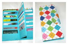 Loyalty Card Organizer Wallet Credit Card Gift by MintChocolat