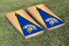San Jose State Spartans Triangle Hardcourt Cornhole Bag Toss Game