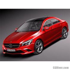 Mercedes-Benz CLA-class 2014 - 3D Model