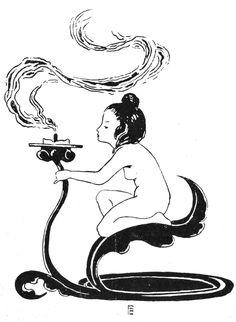 Vintage Clip Art Illustration