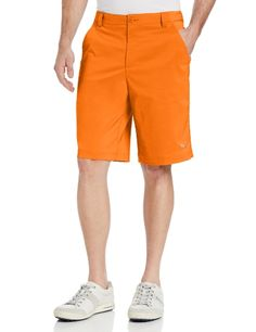 Puma Golf NA Mens Solid Tech Shorts Vibrant Orange 32 -- See this great product. Note:It is Affiliate Link to Amazon.