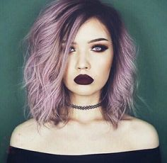 lcnicole98:  Lilac -with pink tint- hair