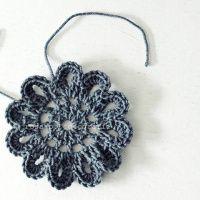 chrochet flower tutorial. | rosa p.
