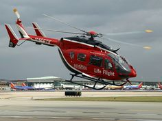 Memorial Hermann LifeFlight Eurocopter EC-145
