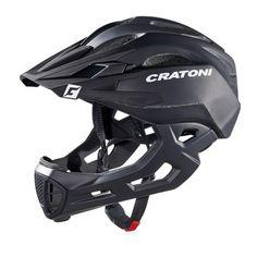 Bild von Cratoni C-Maniac Fullface Helm - black matt Cycling Helmet, Cycling Outfit, Bicycle Helmet, Bike Helmets, Running Accessories, Clothing Accessories, Downhill Bike, Motorcycle Gear, Motorcycle Helmets