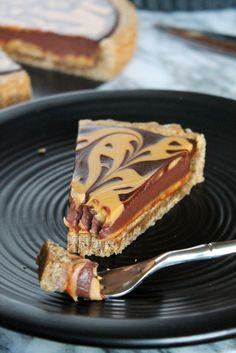 Chocolate Peanut Butter Gingerbread Tart Recipe