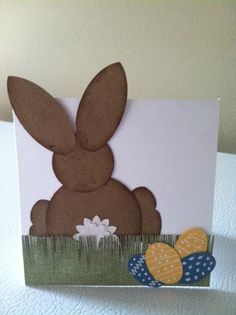 #punches / Easter card