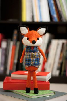 Needle Felted Henry the Fox