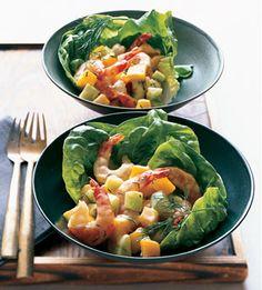 Shrimp, Cucumber, and Mango Salad: Recipe: bonappetit.com