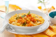 No-Rice Risotto | The Dr. Oz Show: GASP! GASP! I love risotto... a faux one here! Worth trying... use stovetop!