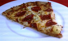 Emily Bites - Weight Watchers Friendly Recipes: Pepperoni & Pineapple Pizza