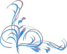 Simple Swirl Designs png   Corner Swirl clip art - vector clip art online, royalty free & public ...