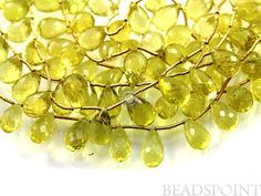 Natural '' NO TREATMENT'' Lemon Topaz Small Micro by Beadspoint, $19.95