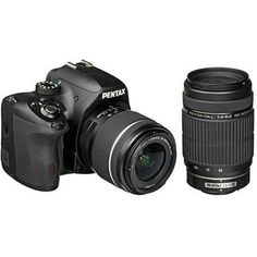 6848de845a Pentax K-50 DSLR Camera with 18-55mm WR and 55-300mm Lenses  Photography