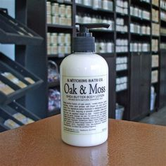 Oak & Moss Shea Butter Body Lotion