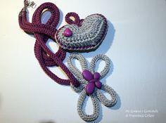 Mi Girano i Gomitoli: Tante Nuove Collane Crochet - #tricotin
