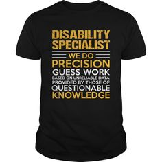 DISABILITY SPECIALIST T-Shirts, Hoodies. CHECK PRICE ==►…