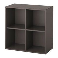 EKET dark grey, Cabinet combination with feet, Width: 70 cm Height: 72 cm - IKEA Ikea Eket, Design Your Life, Wall Mounted Shelves, Floor Space, Storage Solutions, Storage Spaces, Home Furnishings, Shelving, The Unit
