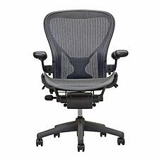 Herman Miller Fully Loaded Posture fit Size B Aeron Chairs - Open Box - Stools For Sale, Herman Miller Aeron Chair, Office Equipment, Desk Chair, Office Desk, Ebay, Chairs, Design, Home Decor