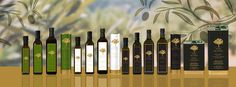 Pure Hellenic Foods Extra Virgin Olice Oil varieties with new tags