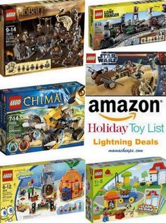 MamaCheaps.com: Schedule for Today's TOY Lightning Deals on Amazon (11/11) – LEGO DAY!!!!!!!!!