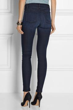J Brand|The Maria Stocking high-rise skinny jeans|NET-A-PORTER.COM