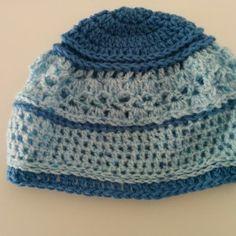 Χειροποίητο πλεκτό σκουφί γαλάζιο Beanie, Hats, Fashion, Moda, Hat, Fashion Styles, Beanies, Fashion Illustrations, Hipster Hat