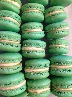 sea green macarons