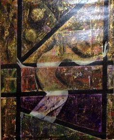 Fragment of the broken past artista vimmgo tecnica acrilico mixta