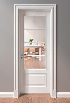 Doors and windows are mighty powerful tool in interior design. The combination of doors and windows can set the mood and open the space. Make the space around you beautiful! Get upvc doors and windows today Internal French Doors White, White Doors, White Bedroom Door, Bedroom Doors, Wood Bedroom, Door Design Interior, Interior Barn Doors, Interior French Doors, Wooden Door Design