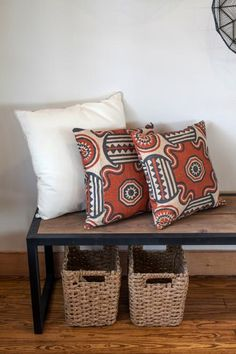 PawPaw's House | Fixer Upper Season 3 | repurposed old curtains to pillows