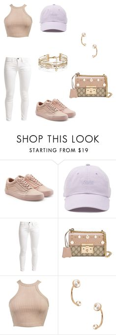 """Untitled #2742"" by ceairrarenee on Polyvore featuring Vans, Benetton, Gucci, Valentino and Accessorize"