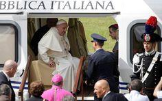 Pape François - Pope Francis - Papa Francesco - Papa Francisco : samedi 26 juillet 2014, visite à Caserta