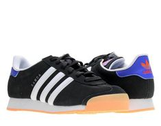 268c6b93cac NEW Adidas Samoa C75472 C75467 Black Blue Casual Athletic Shoes Sneaker KIDS   fashion  clothing