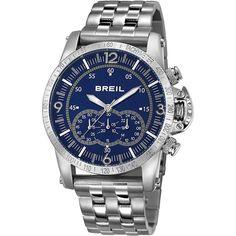 Cronografo Breil Aviator Uomo Blu Acciaio TW1229