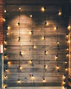 Set of 20 Bulbs Cafe Style Patio String Lights - 20 Feet
