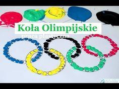 Koła Olimpijskie praca plastyczna i szablony do druku - Moje Dzieci Kreatywnie Origami, Sports, Google, Youtube, Hs Sports, Origami Paper, Sport, Youtubers, Origami Art