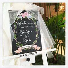 Happy Wedding . 小花が散りばめられたカラードレスとご夫妻のおしゃれで柔らかい雰囲気に合わせて◎ボード用のベールつき #illustration #3szchalkartwedding #chalkart #blackboard #blackboardart #Wedding #bridal #プレ花嫁#結婚式準備 #ウェルカムボード #チョークアート #黒板 #黒板アート #ウェルカムスペース #ブライダル #ウェディング#ベール#welcomeboard #artwork #handmade