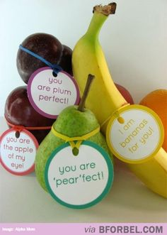 Fruity Puns… They just need somebody to love them.