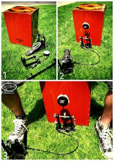 How to make your cajon more awesome! Add a bass drum pattern to your cajon playing with a foot pedal! GoDpsMusic.com