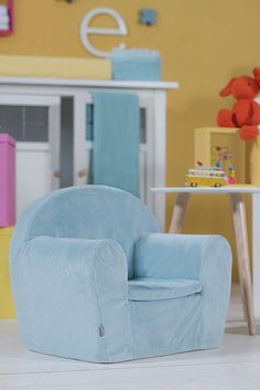 Baby sofa corduroy jade by Jollein