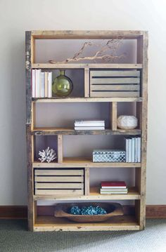 33 Diy Pallet Shelves You'll Want to Build to Get more Storage Space