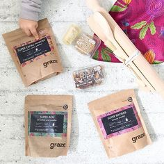 Eeny, meeny, miney, moe, which of these graze bags has to go?! #regram @chalkkidsblog