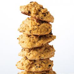 Skip the donuts and danishes, start the morning on a healthier note. Treat yourself to these scones, made with half plain and half whole-wheat flour plus rolled oats, which add lots of texture. They also make a great afternoon tea-time snack.
