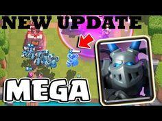 Clash Royale New Update - Mega Minion, 4 New cards, Legendary & Epic Che...